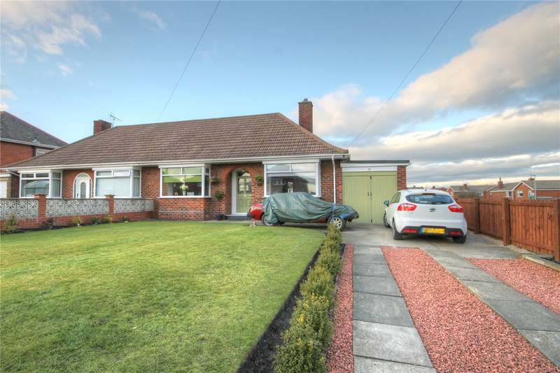2 Bedrooms Semi Detached Bungalow for sale in Woodhouse Lane, Bishop Auckland, Co Durham, DL14
