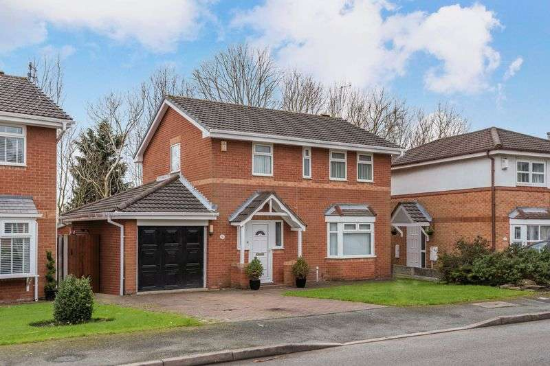 4 Bedrooms Detached House for sale in Cottonwood, Liverpool