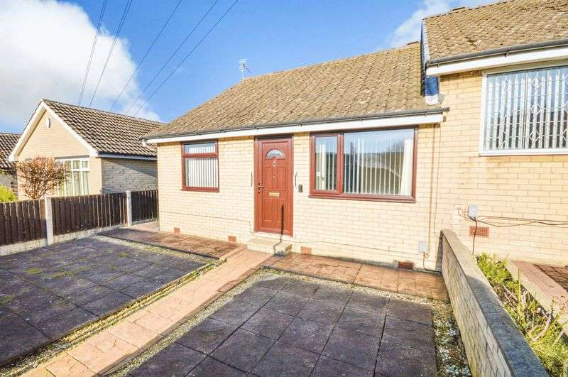 2 Bedrooms Semi Detached Bungalow for sale in Fellowsfield Way, Kimberworth