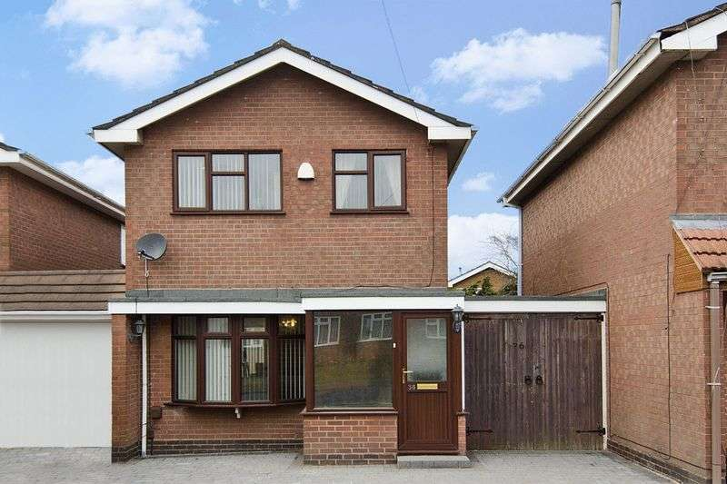 3 Bedrooms Detached House for sale in Wrekin Drive, Bradmore, Wolverhampton