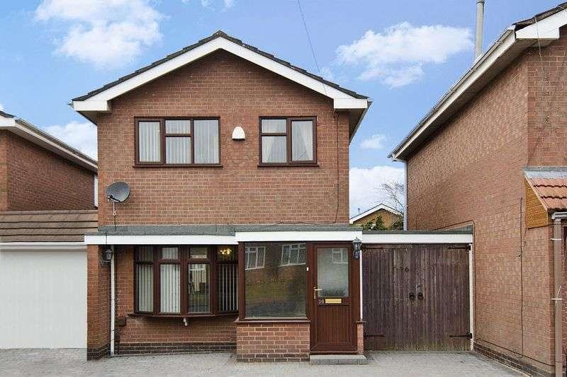 3 Bedrooms Detached House for sale in Wrekin Drive, Bradmore, Wolverhampton