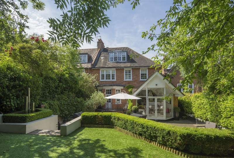 6 Bedrooms House for sale in Ferncroft Avenue, Hampstead, NW3