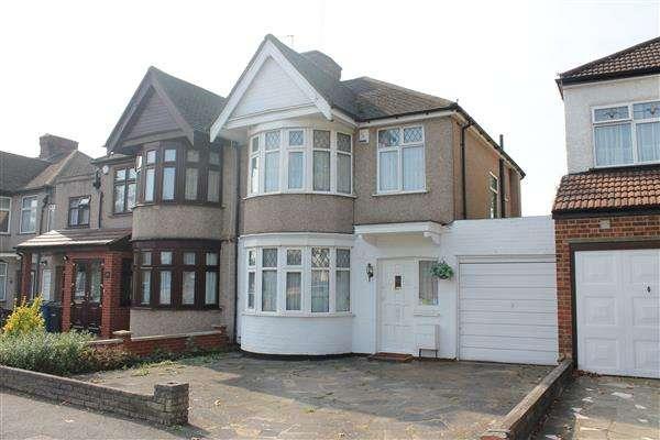 3 Bedrooms Semi Detached House for sale in Elmsleigh Avenue, Harrow