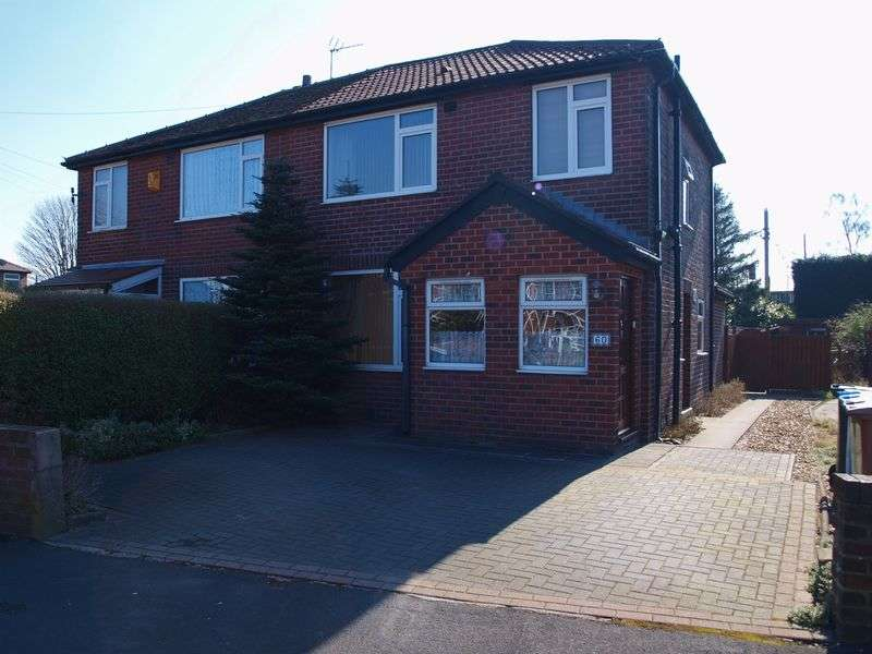 3 Bedrooms Semi Detached House for sale in Rosefield Crescent, Newbold, OL16 5BD