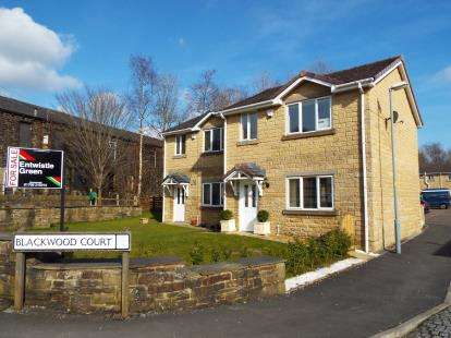 2 Bedrooms Semi Detached House for sale in Blackwood Court, Stacksteads, Bacup, Lancashire, OL13