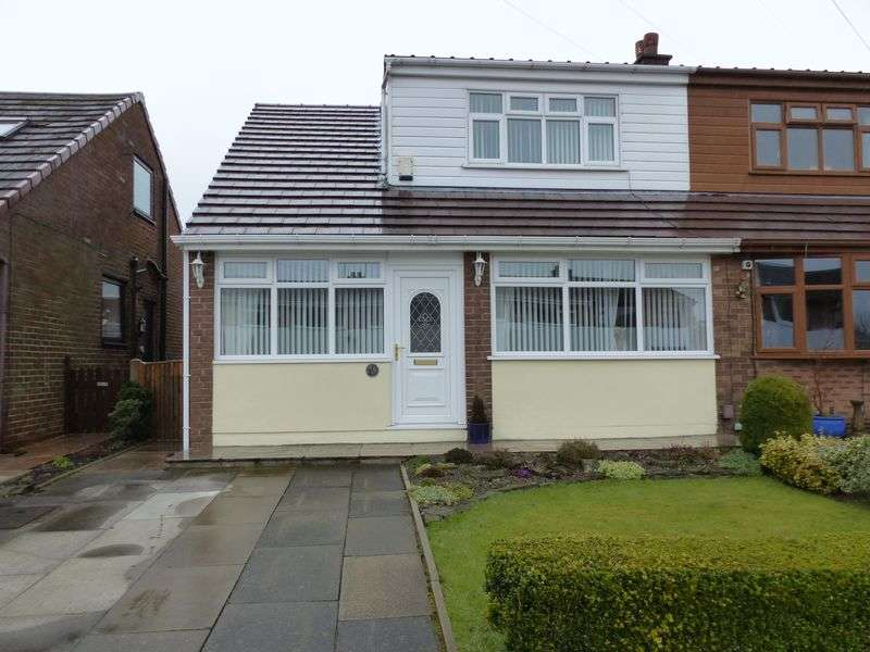 3 Bedrooms Semi Detached Bungalow for sale in Consort Avenue, Royton