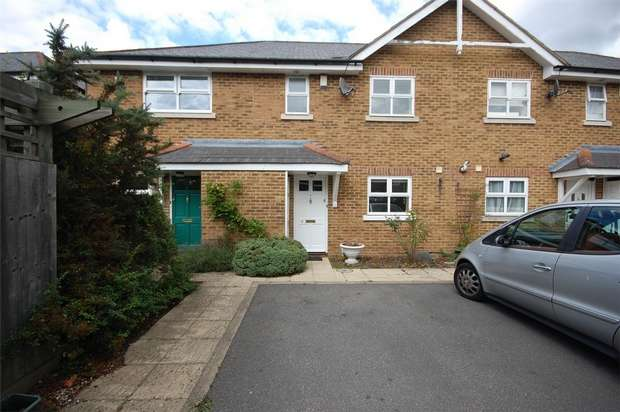 3 Bedrooms Terraced House for sale in Nursery Gardens, Hampton