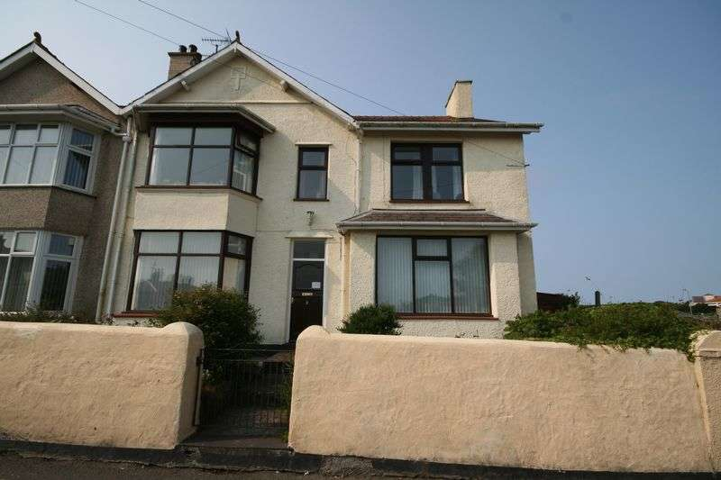 5 Bedrooms Semi Detached House for sale in Garreglwyd Road, Holyhead, Anglesey