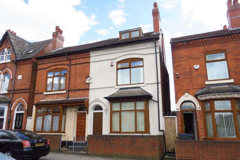 4 Bedrooms Semi Detached House for sale in Fulham Road, Birmingham B11 4QG