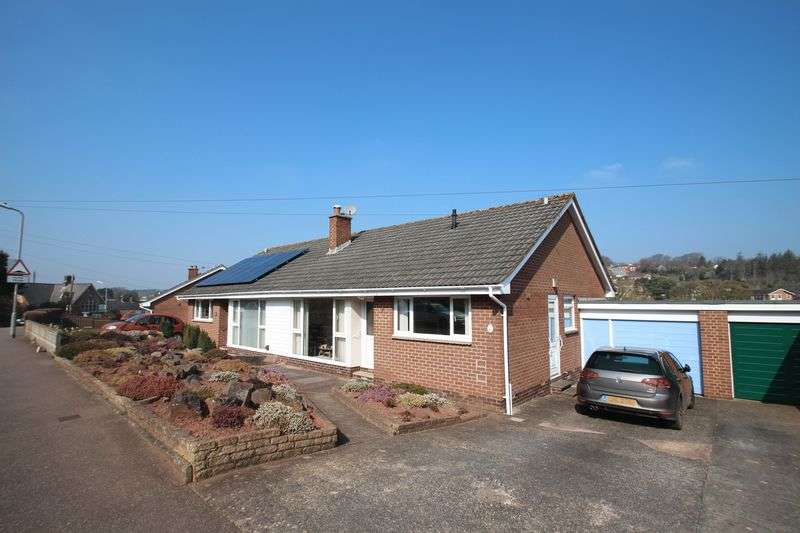 2 Bedrooms Semi Detached Bungalow for sale in 13 Greenway, Crediton