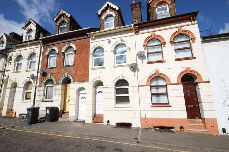 2 Bedrooms Flat for sale in Cardigan Street, Luton