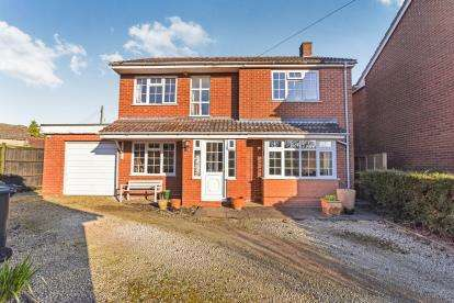 4 Bedrooms Detached House for sale in Hoden Lane, Cleeve Prior, Evesham, Worcestershire