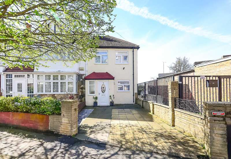 2 Bedrooms Semi Detached House for sale in Melrose Avenue, Mitcham, CR4
