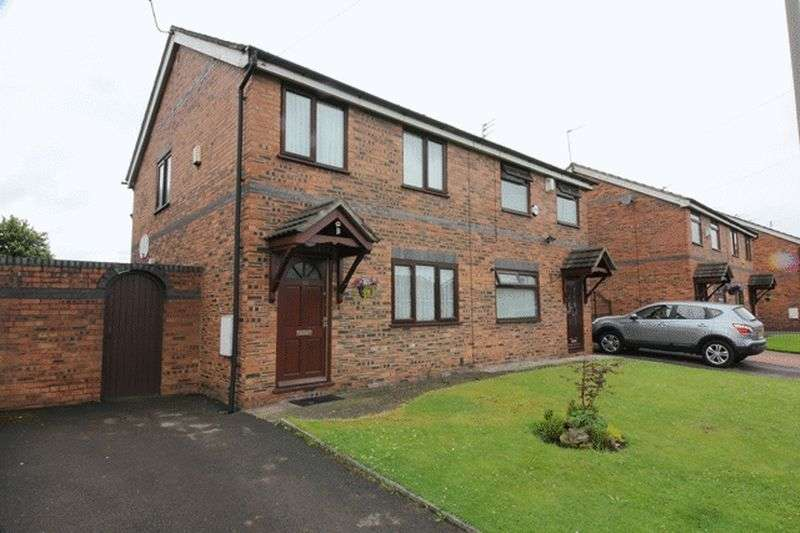 3 Bedrooms Semi Detached House for sale in Almond Court, Garston, Liverpool, L19