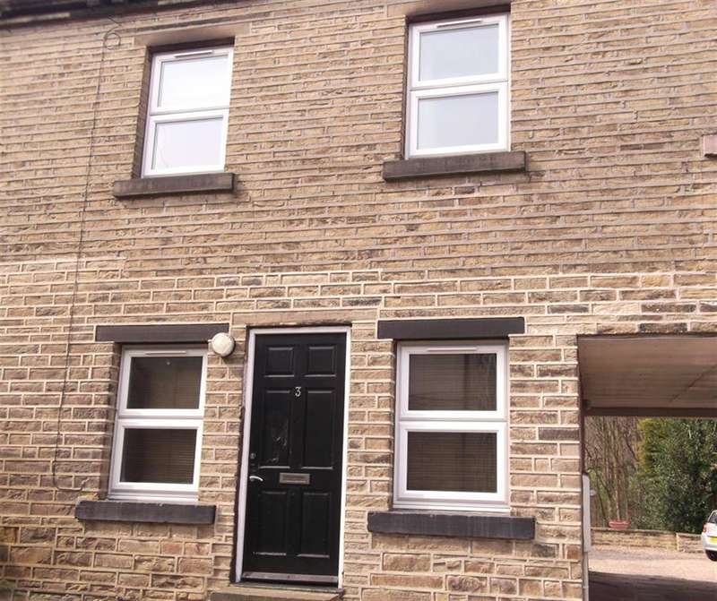 2 Bedrooms Mews House for sale in Delf Hill, Brighouse, HD6 3NL