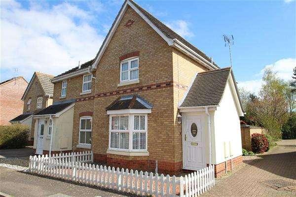 3 Bedrooms Semi Detached House for sale in Elmers Lane, Grange Farm, Kesgrave, Ipswich