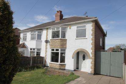 3 Bedrooms Semi Detached House for sale in Mansfield Road, Glapwell, Chesterfield, Derbyshire