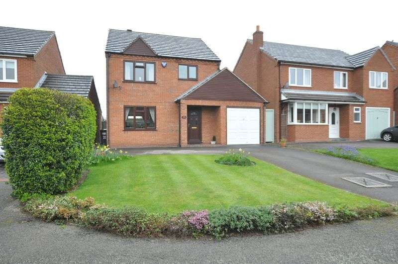 3 Bedrooms Detached House for sale in De Ferrers Croft, Stretton