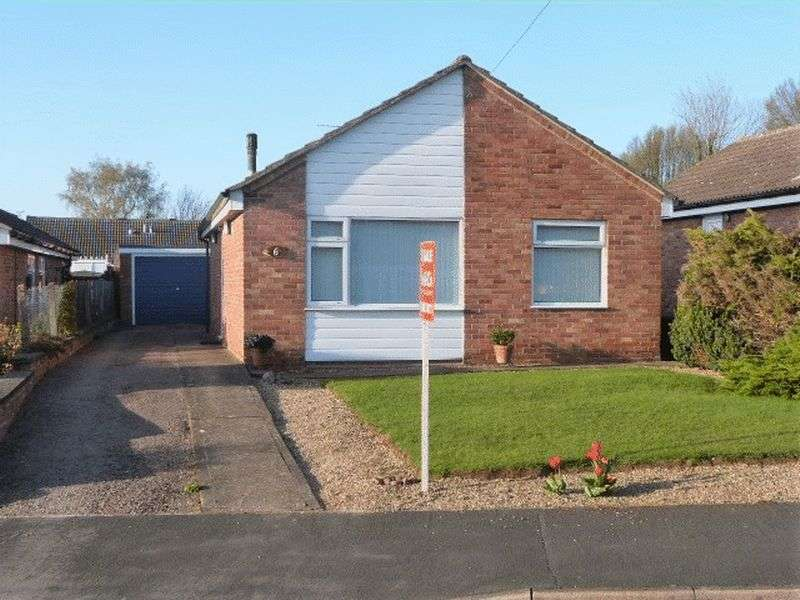 2 Bedrooms Detached Bungalow for sale in Wych Elm Close, Great Glen