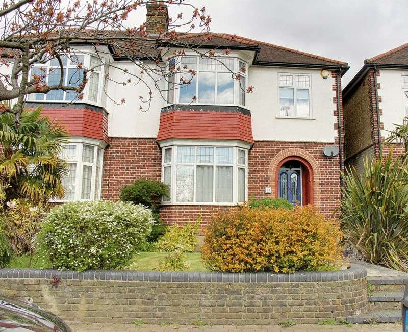 4 Bedrooms Semi Detached House for sale in Ringwood Way, London