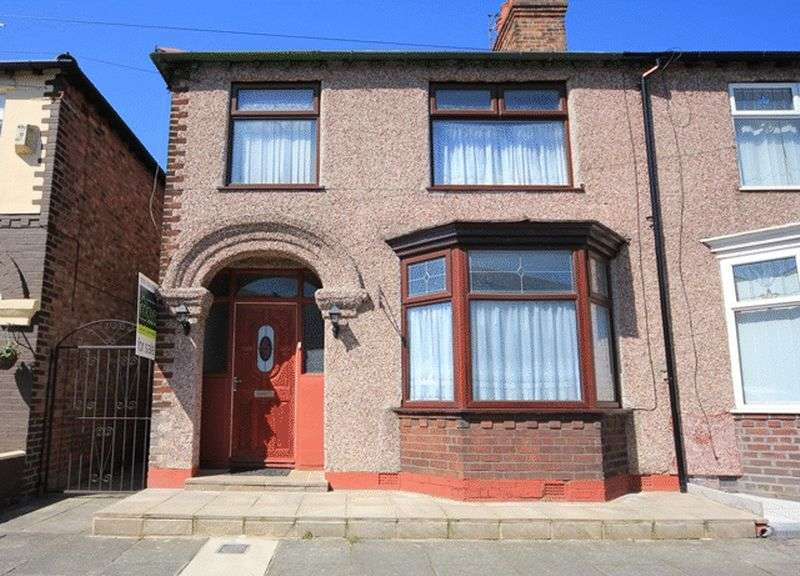 3 Bedrooms Semi Detached House for sale in Rosedale Road, Mossley Hill, Liverpool, L18