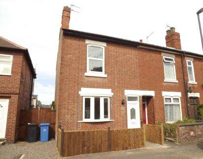 2 Bedrooms Terraced House for sale in Baker Street, Alvaston, Derby, Derbyshire