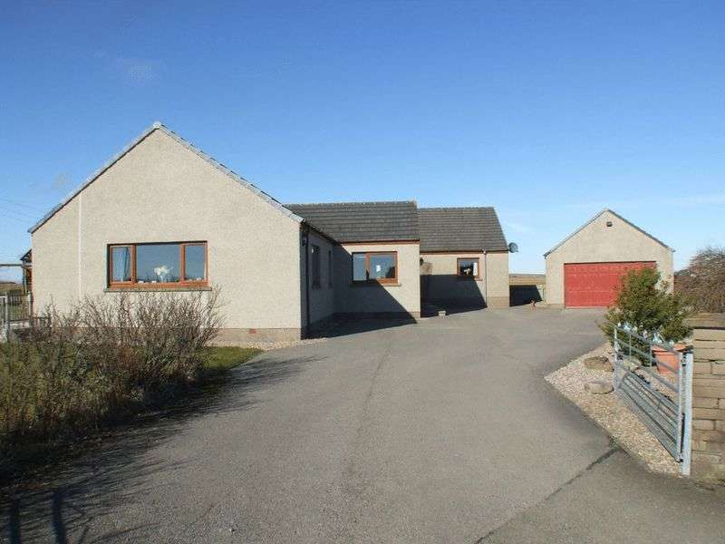 6 Bedrooms Detached Bungalow for sale in Moorlands, Watten, Wick, Caithness, KW1 5XW
