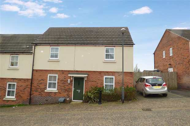 3 Bedrooms End Of Terrace House for sale in Two Yard Lane, Nuneaton, Warwickshire