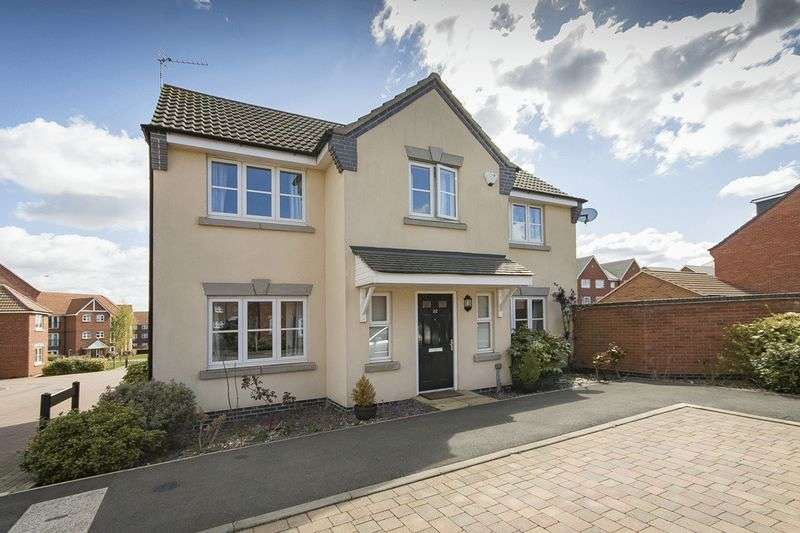4 Bedrooms Detached House for sale in MAGDALENE DRIVE, MICKLEOVER