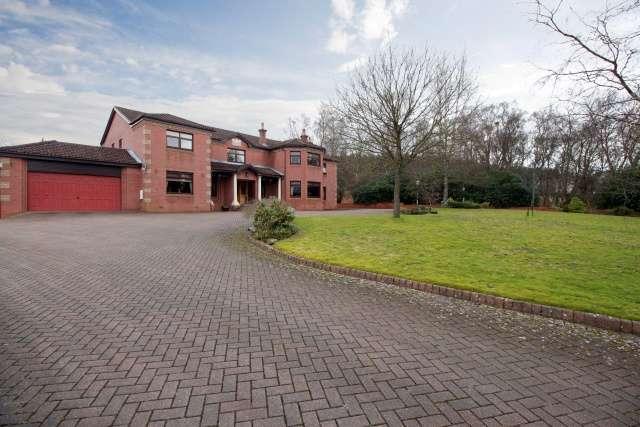 6 Bedrooms Detached Villa House for sale in Glen Road, Torwood, Falkirk, FK5 4SN