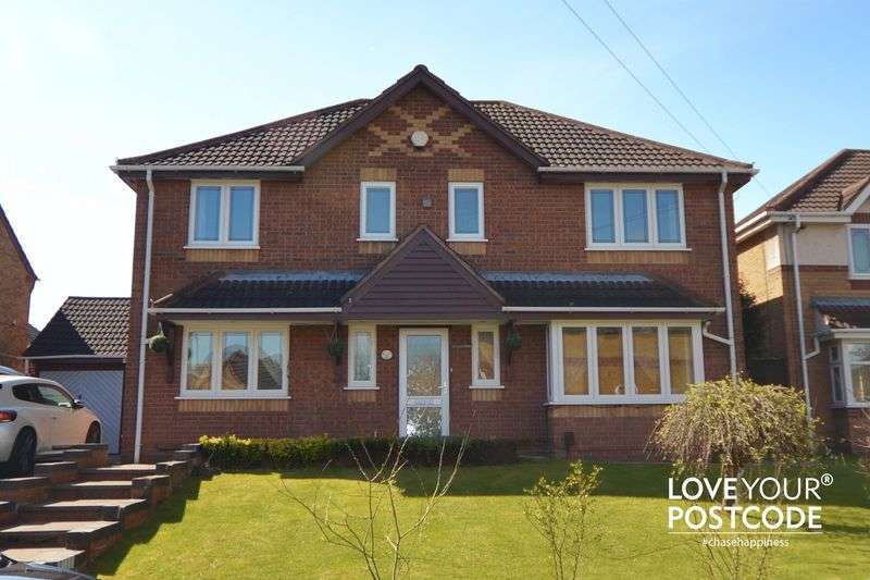 4 Bedrooms Detached House for sale in Amphlett Croft, Tipton DY4 7RX