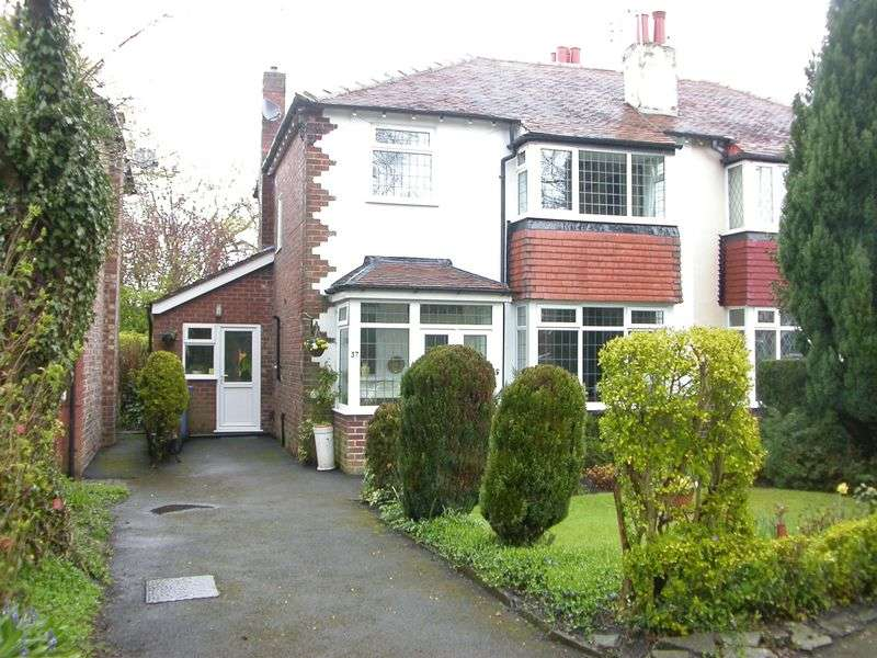 3 Bedrooms Semi Detached House for sale in CHEADLE HULME (GROVE LANE)