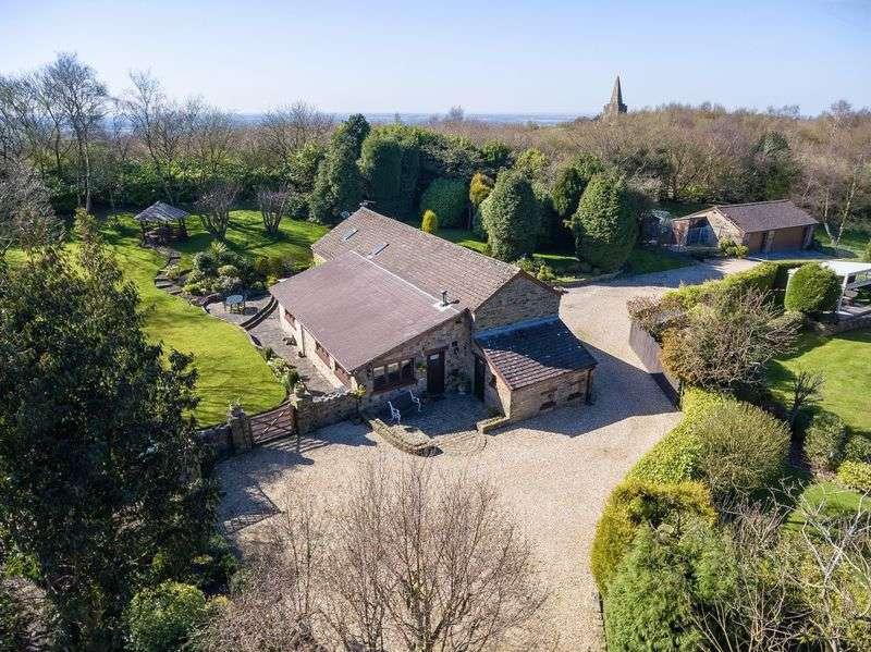 4 Bedrooms Detached House for sale in Bradshaw Farm Barn, Long Heys Lane, Dalton, WN8 7RS