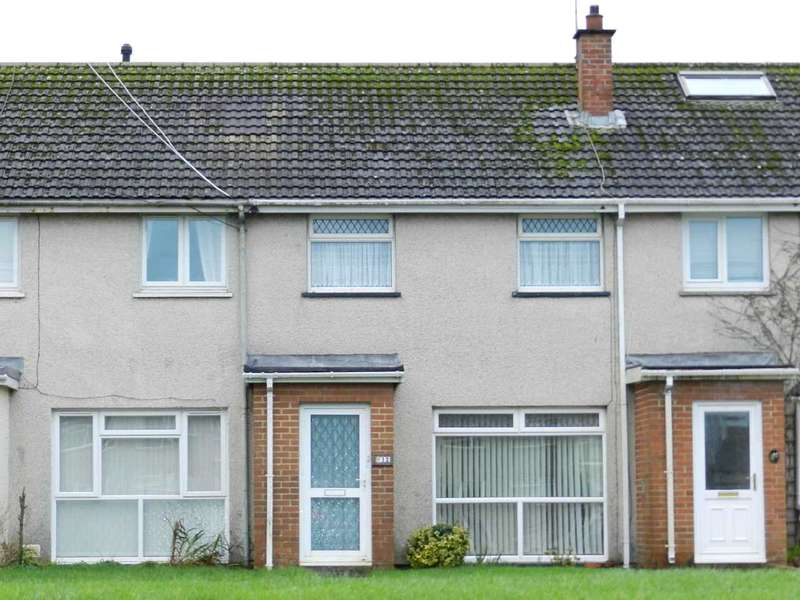 3 Bedrooms Terraced House for sale in Scotchwell View, Haverfordwest, Pembrokeshire