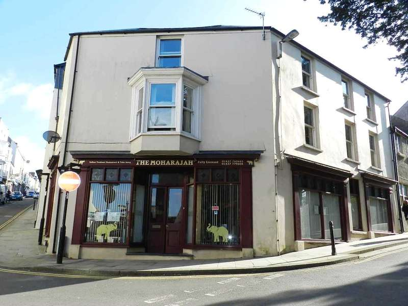 House for sale in The Moharajah, Market Street, Haverfordwest, Pembrokeshire