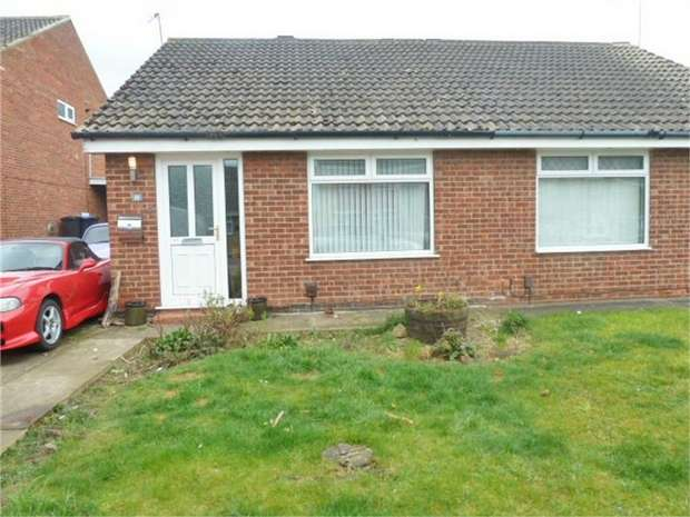 2 Bedrooms Semi Detached Bungalow for sale in Malltraeth Sands, Middlesbrough, North Yorkshire