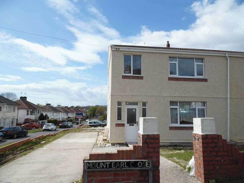 3 Bedrooms Semi Detached House for sale in Mount Earl Close Bridgend CF31 3HA
