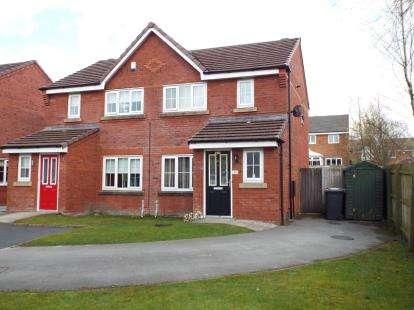 3 Bedrooms Semi Detached House for sale in Sandileigh Drive, Bolton, Greater Manchester, BL1