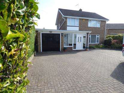 3 Bedrooms Detached House for sale in Dean Road, Wrexham, Wrecsam, LL13