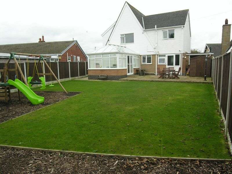 4 Bedrooms Detached House for sale in 3 Rosemount Avenue Preesall Lancs FY6 0EY