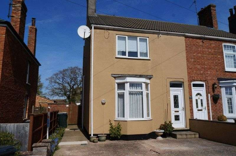 2 Bedrooms Semi Detached House for sale in Southfield Place, Horncastle