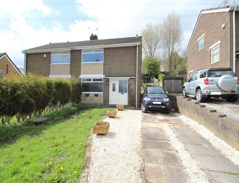 3 Bedrooms Semi Detached House for sale in Markfield Avenue, BRADFORD, BD12