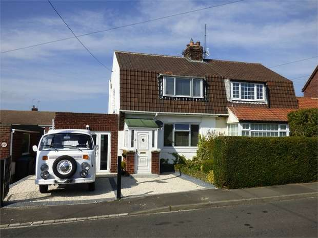 2 Bedrooms Semi Detached House for sale in Barley Mill Road, Consett, Durham