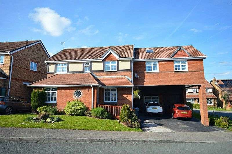 5 Bedrooms Detached House for sale in Hendre Court, Cwmbran