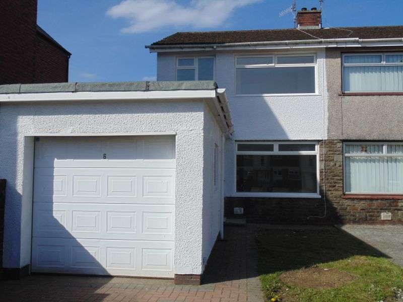 3 Bedrooms Semi Detached House for sale in Oakfield Road, Oakfield, Cwmbran