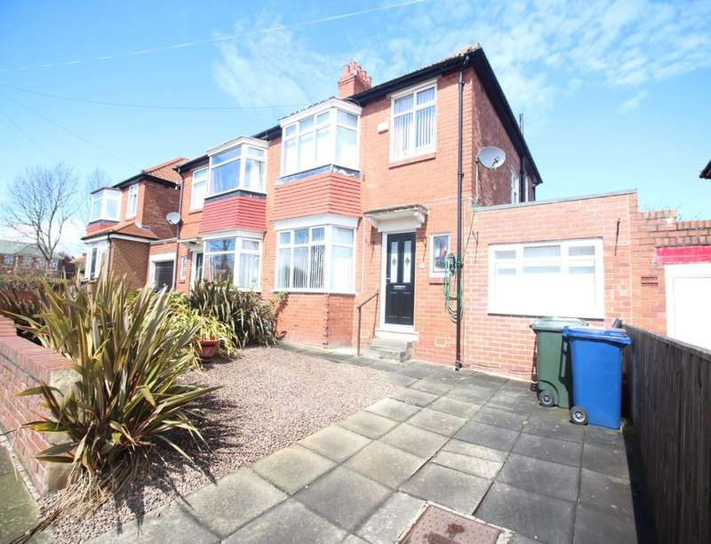 3 Bedrooms Semi Detached House for sale in Ribbledale Gardens, Newcastle Upon Tyne, NE7