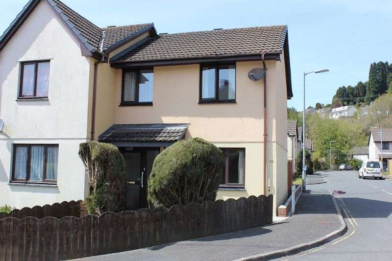 2 Bedrooms Semi Detached House for sale in Grove Road, St. Austell