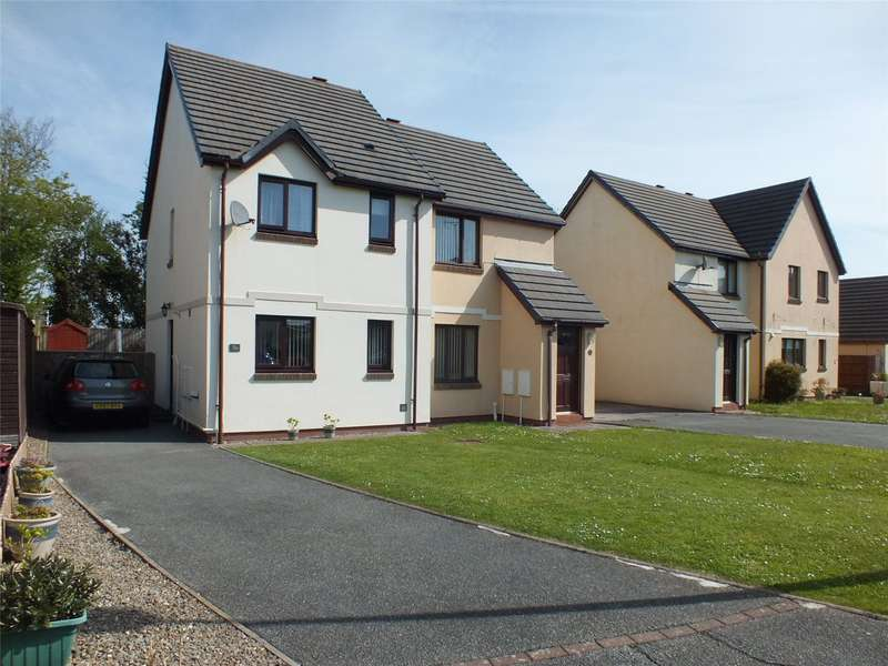 2 Bedrooms Semi Detached House for sale in Honeyborough Grove, Neyland, Milford Haven