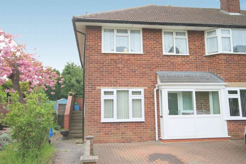 2 Bedrooms Flat for sale in Lilac Road, Gillway, Tamworth. B79 8QP