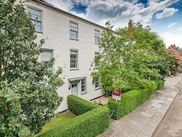 4 Bedrooms Town House for sale in Reynolds Wharf, Coalport, Telford, Shropshire